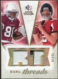 2008 Upper Deck SP Rookie Threads Dual Threads Patch #DTDR Early Doucet Matt Ryan /35