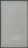 2013 Topps Archives #MRG Robert Griffin III Mayo Printing Plate Yellow #1/1