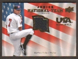 2008 Upper Deck USA Junior National Team Jerseys #MP Matthew Purke