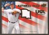 2008 Upper Deck USA National Team Jerseys #RF Ryan Flaherty
