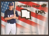 2008 Upper Deck USA National Team Jerseys #RK Roger Kieschnick