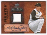 2008 Upper Deck Ballpark Collection Jersey Autographs #28 Tom Gorzelanny Autograph