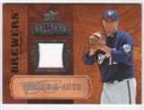 2008 Upper Deck Ballpark Collection Jersey Autographs #55 Ben Sheets Autograph
