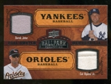 2008 Upper Deck Ballpark Collection #192 Derek Jeter Cal Ripken Jr.