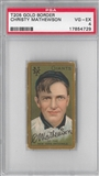 1909-11 T206 Gold Border Christy Mathewson PSA 4 (VG-EX) *4729