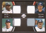 2008 Upper Deck Sweet Spot Swatches Quad #QTGHO David Ortiz/Travis Hafner/Jim Thome/Jason Giambi