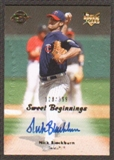 2008 Upper Deck Sweet Spot #141 Nick Blackburn Autograph /399