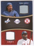 2008 Upper Deck Sweet Spot Swatches Dual #DRO Manny Ramirez David Ortiz