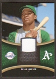 2008 Upper Deck Sweet Spot Swatches #SRJ Reggie Jackson