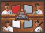 2008 Upper Deck Ballpark Collection #206 Jason Varitek Jorge Posada Ivan Rodriguez Kenji Johjima