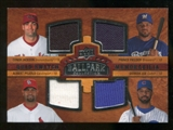 2008 Upper Deck Ballpark Collection #211 Conor Jackson Prince Fielder Albert Pujols Derrek Lee