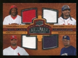 2008 Upper Deck Ballpark Collection #220 Vladimir Guerrero Manny Ramirez Albert Pujols Carlos Lee