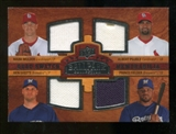 2008 Upper Deck Ballpark Collection #235 Mark Mulder Albert Pujols Ben Sheets Prince Fielder