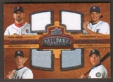 2008 Upper Deck Ballpark Collection #239 Jason Varitek Ivan Rodriguez Jorge Posada Kenji Johjima