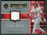 2007 Upper Deck Ultimate Collection Ultimate Star Materials #AP Albert Pujols