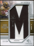 2009 Upper Deck SP Threads #215 D.J. Moore * Autograph /120