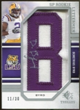 2009 Upper Deck SP Threads #218 Demetrius Byrd * Autograph /120