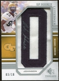 2009 Upper Deck SP Threads #243 Michael Johnson * Autograph /126