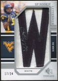 2009 Upper Deck SP Threads #246 Pat White * Autograph /120