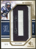 2009 Upper Deck SP Threads Rookie Lettermen Autographs Gold #247 Jarett Dillard* Autograph /35