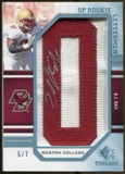2009 Upper Deck SP Threads Rookie Lettermen College Autographs #205 B.J. Raji* Autograph /91