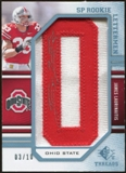 2009 Upper Deck SP Threads Rookie Lettermen College Autographs #229 James Laurinaitis* Autograph /90