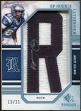 2009 Upper Deck SP Threads Rookie Lettermen College Autographs #247 Jarett Dillard* Autograph /84