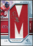 2009 Upper Deck SP Threads Rookie Lettermen College Autographs #249 Peria Jerry* Autograph /88