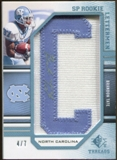 2009 Upper Deck SP Threads Rookie Lettermen College Autographs #251 Brandon Tate* Autograph /91