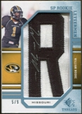 2009 Upper Deck SP Threads Rookie Lettermen College Autographs #260 William Moore* Autograph /72