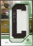 2009 Upper Deck SP Threads Rookie Lettermen College Nickname Autographs #215 D.J. Moore* Autograph /70