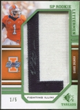 2009 Upper Deck SP Threads Rookie Lettermen College Nickname Autographs #259 Vontae Davis* Autograph /70