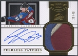 2011/12 Dominion #21 Gabriel Landeskog Peerless Patches Patch Auto #29/40