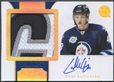 2011/12 Dominion #182 Carl Klingberg Horizontal Rookie Patch Auto #20/48
