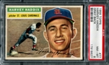 1956 Topps Baseball #77 Harvey Haddix PSA 8 (NM-MT) *8627