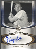 2004 SP Legendary Cuts #GK George Kell Ultimate Auto #23/25