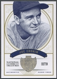 2012 Panini National Treasures #19 Joe Cronin Jersey #14/99