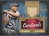 2011 Topps Tier One #TSR11 Johnny Mize Top Shelf Relics Bat #266/399
