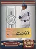 2005 Donruss Signature #85 Gary Sheffield Silver Auto