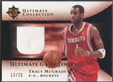 2005/06 Ultimate Collection #UJTM Tracy McGrady Gold Jersey #13/25