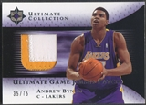 2005/06 Ultimate Collection #UJPAN Andrew Bynum Rookie Patch #35/75