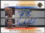 2005/06 Ultimate Collection #DSHO Dwight Howard & Emeka Okafor Signatures Dual Auto #13/25