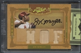 2008 Prime Cuts #17 Joe Morgan Icons Signature Materials HOF Bat Auto #18/25