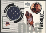 1998/99 Upper Deck #GJ46 Antawn Jamison Rookie Game Jersey