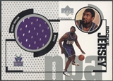 1998/99 Upper Deck #GJ48 Robert Traylor Rookie Game Jersey