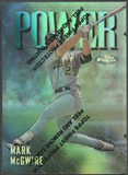 1997 Finest #305 Mark McGwire Refractor