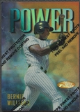 1997 Finest #45 Bernie Williams Refractor