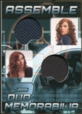2012 Upper Deck Avengers Assemble Dual Memorabilia #AD1 Black Widow Black Widow