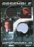 2012 Upper Deck Avengers Assemble Dual Memorabilia #AD20 Hawkeye Agent Coulson
