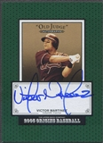 2005 Origins #VM Victor Martinez Old Judge Auto